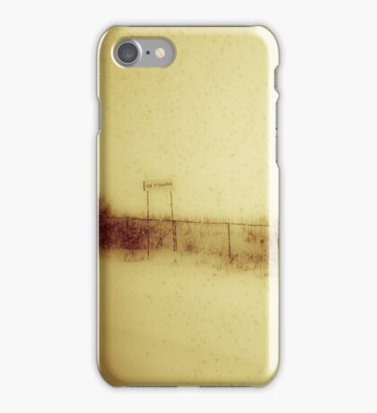 The Train Journey iPhone Case/Skin