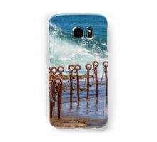 Ocean pool Newcastle NSW Australia Samsung Galaxy Case/Skin
