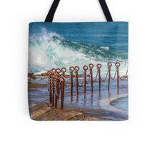 Ocean pool Newcastle NSW Australia Tote Bag
