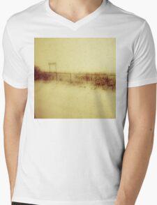 The Train Journey Mens V-Neck T-Shirt
