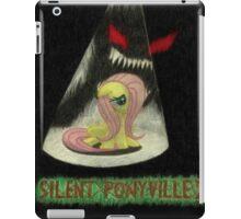 silent ponyville iPad Case/Skin