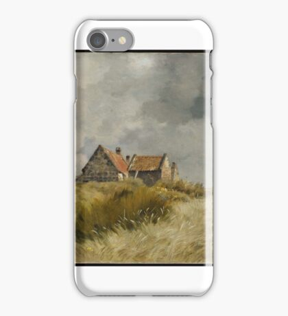 Cottage in the Dunes Jean Charles Cazin (French, ) iPhone Case/Skin