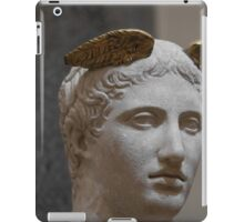 Mercury head stone sculpture iPad Case/Skin