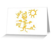 Doodle Jack - Borderlands Greeting Card