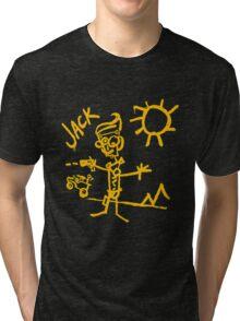 Doodle Jack - Borderlands Tri-blend T-Shirt