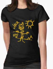 Doodle Jack - Borderlands Womens Fitted T-Shirt