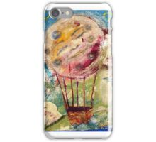 Moon ride over Seattle iPhone Case/Skin