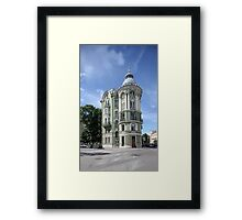 classical architecture  Framed Print