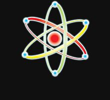 ATOM, ATOMIC, SMALL, Physics, Neutrons, Protons, Electrons, Nuclear, Energy, Fission, Fusion  Unisex T-Shirt