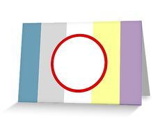 Objectum Sexuality Pride Greeting Card