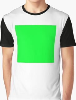 GREEN SQUARE, Green, Eco, Ecology, Ecological, Nature, Natural,  Graphic T-Shirt