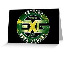Extreme Xbox Gamers Greeting Card