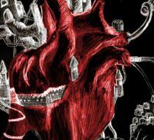 Heart in stress Sticker