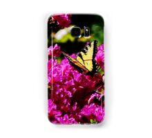Tiger Swallowtail on Azalea Samsung Galaxy Case/Skin