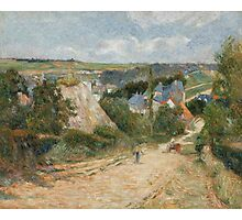 Paul Gauguin - Entrance to the Village of Osny . French   Landscape Photographic Print