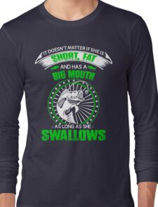 Funny fishing Long Sleeve T-Shirt