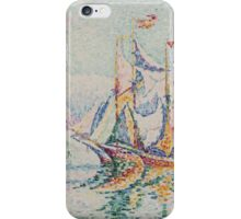 Paul Signac - Antibes. Morning . Provence . French  Seascape iPhone Case/Skin