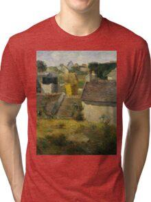 Paul Gauguin - Houses at Vaugirard .Landscape Tri-blend T-Shirt