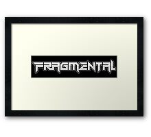 FRAGMENTAL NAME BY RUFFIAN GAMES Framed Print