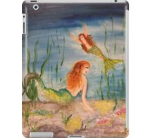 Mermaids treasure hunting iPad Case/Skin