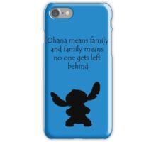 Ohana ~ Lilo and Stitch iPhone Case/Skin