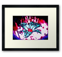 Lilly Surreal Framed Print