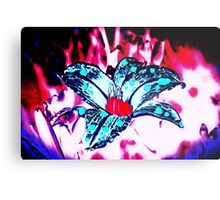Lilly Surreal Metal Print