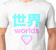 worlds strawberry Unisex T-Shirt