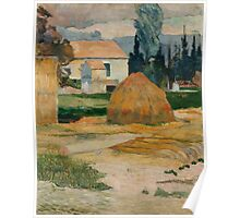 Paul Gauguin - Landscape near Arles . Provence Poster