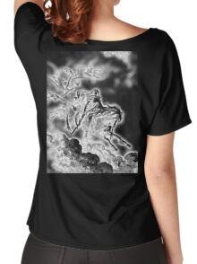 DEATH, Death on the Pale Horse, Gustave Doré, (1865), Revelations, Seven Seals, BLACK Women's Relaxed Fit T-Shirt