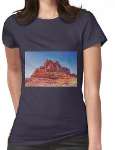 Chateau De Arches Womens Fitted T-Shirt