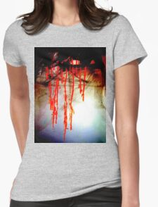 Reducció de vi Womens Fitted T-Shirt