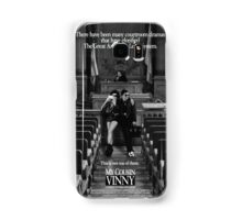 My cousin Vinny movie poster Samsung Galaxy Case/Skin