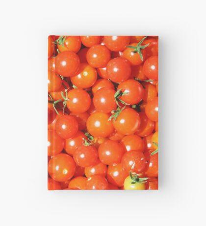 Cherry tomatoes Hardcover Journal