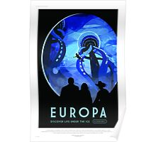 Europa - NASA/JPL Travel Poster Poster