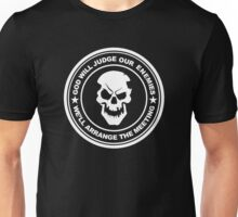 god will judge our enemies we'll arrange the meeting Unisex T-Shirt