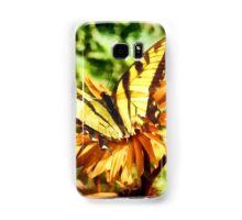 Tiger Swallowtail on Yellow Wildflower Samsung Galaxy Case/Skin
