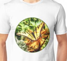 Tiger Swallowtail on Yellow Wildflower Unisex T-Shirt