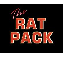 The Rat Pack, Singers, Music, Crooners, Frank Sinatra, Sammy Davis, Dean Martin. STACK Photographic Print
