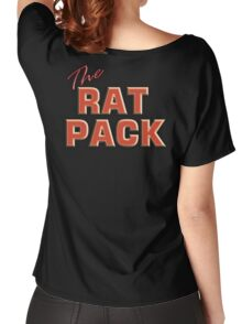 The Rat Pack, Singers, Music, Crooners, Frank Sinatra, Sammy Davis, Dean Martin. STACK Women's Relaxed Fit T-Shirt