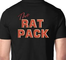 The Rat Pack, Singers, Music, Crooners, Frank Sinatra, Sammy Davis, Dean Martin. STACK Unisex T-Shirt