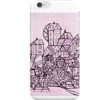 Black & white spirit iPhone Case/Skin