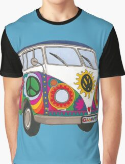 Psychedelic Kombi Graphic T-Shirt