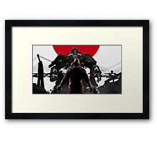 Wolfenstein - Japan Framed Print