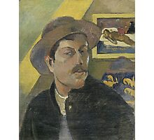 Paul Gauguin - Self-portrait with a hat  Photographic Print