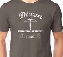 Dixon Crossbow Academy Alumni - White Unisex T-Shirt