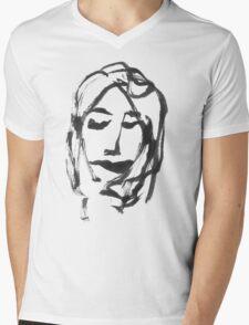 GIRL ONE Mens V-Neck T-Shirt