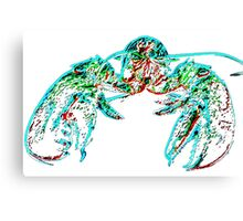 X-ray lobster PNG Canvas Print