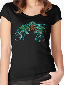 X-ray lobster PNG Women's Fitted Scoop T-Shirt