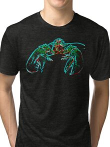 X-ray lobster PNG Tri-blend T-Shirt
